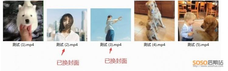 MP4视频缩略图封面软件编辑修改工具自定义一键添加封面图片wma