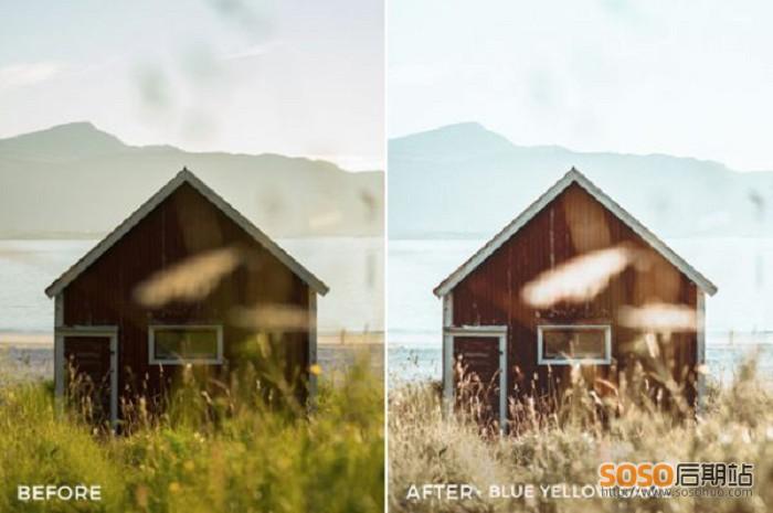 30款LR调色预设INS著名摄影师2年打造旅拍冒险户外风景lightroom滤镜