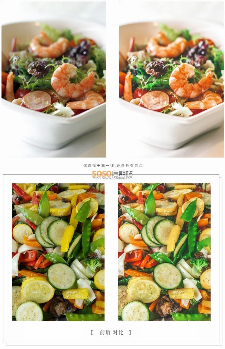 153款LR+LUT预设 美食静物INS胶片色调 图片/视频后期调色滤镜