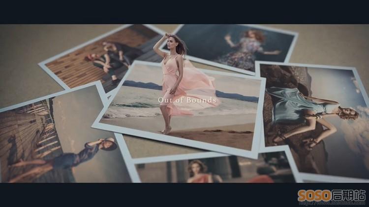 15套 高清AE电子相册模板 创意婚庆毕业纪念儿童家庭AE照片视频素材
