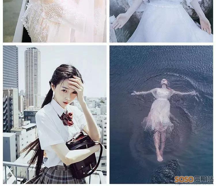 快速入门!日系+欧美胶片复古风格摄影后期网红照片调色视频教程