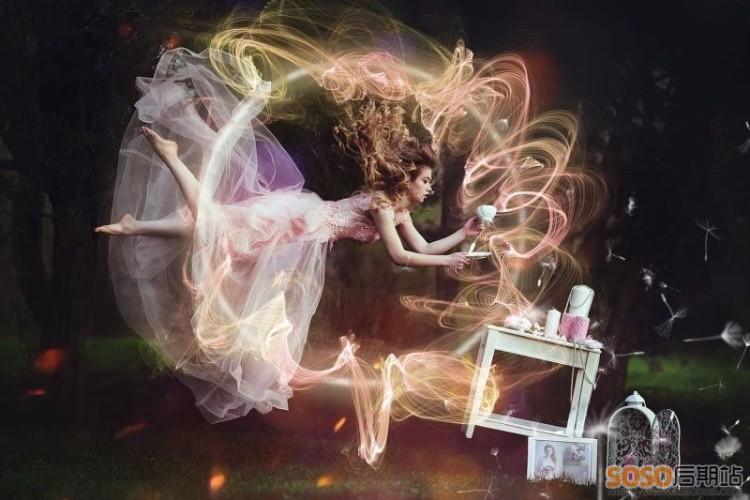 1000+高清 PS合成叠加特效图片素材烟雾粒子火焰雪花下雨光环背景图