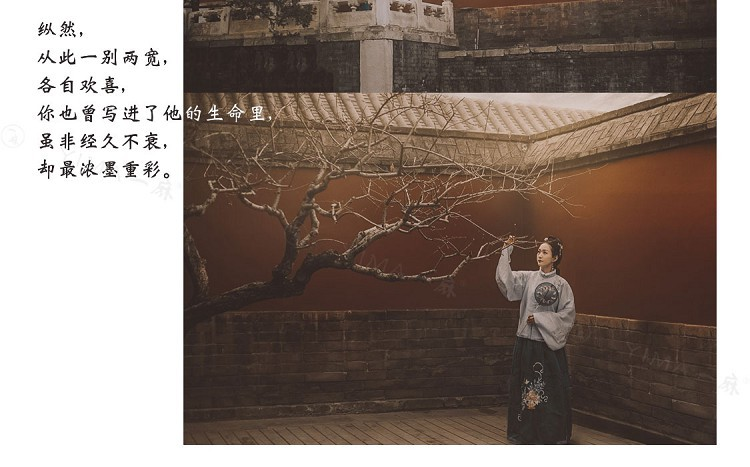 LR+LUT预设 中国风人像复古青灰色胶片8款原创 lightroom古风调色 视频照片通用