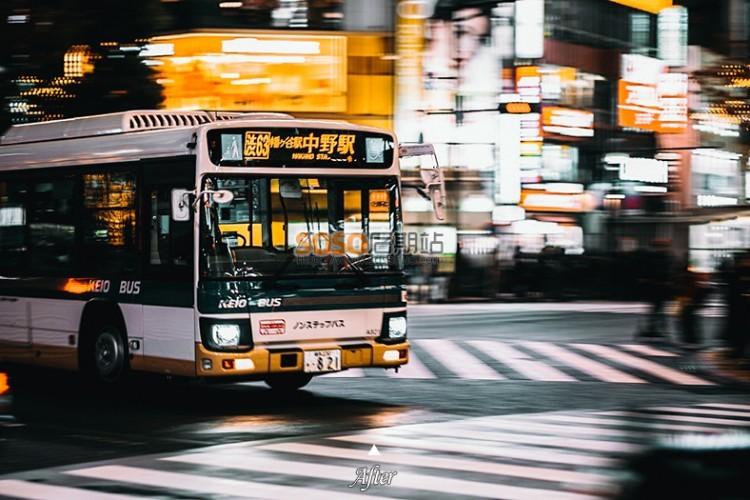 赞!东京旅行LR预设 日本旅拍摄影城市黑金电影色lightroom调色滤镜