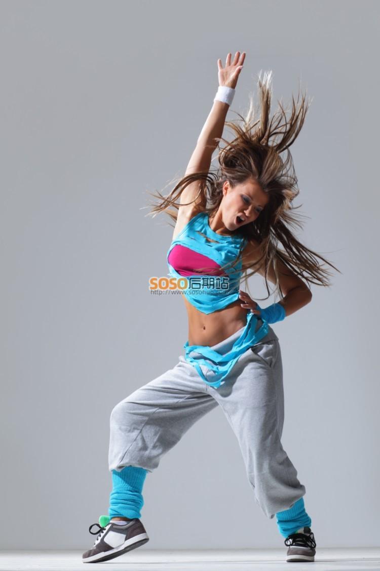 数千张舞蹈摄影图集 芭蕾舞现代街舞动作姿势参考资料 图片素材