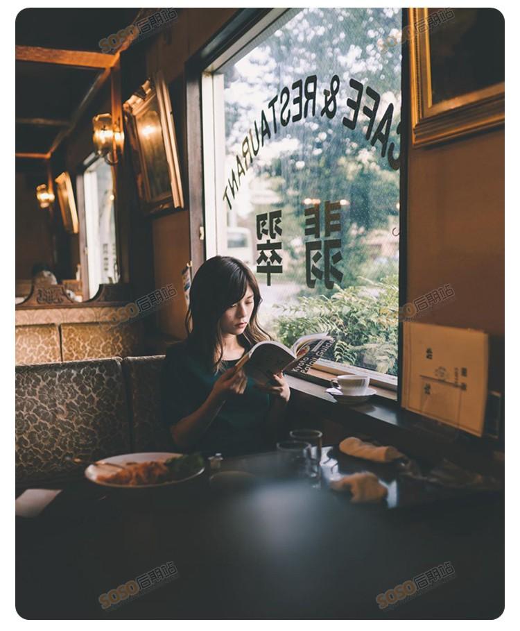 Lightroom预设日系文艺情绪胶片人像风景暗调 手机版LR电脑PS滤镜