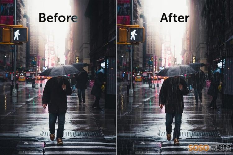 BBTools RainFX模拟真实下雨的PS插件 中文汉化版WIN/MAC