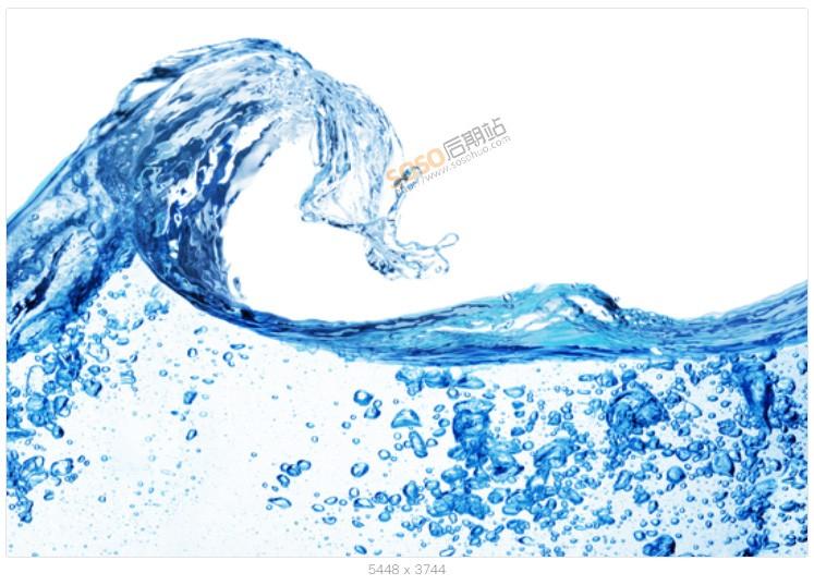 228款高清水波纹图片素材 PSD+PND透明底免扣图 喷溅水珠PS设计合成
