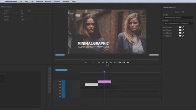 AE+Premiere模板预设:400组简约文字标题字幕模板排版动画Mogrt Titles