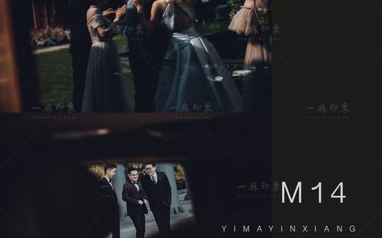 LR预设中式婚礼微电影跟拍视频棕红质感人像PR/PS/FCPX调色LUT