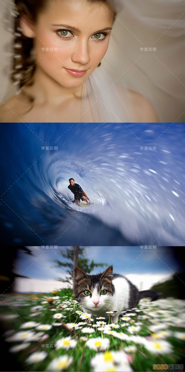 Alien Skin Bokeh 2 中文WIN/MAC一键景深移轴摄影大光圈PS背景虚化插件滤镜