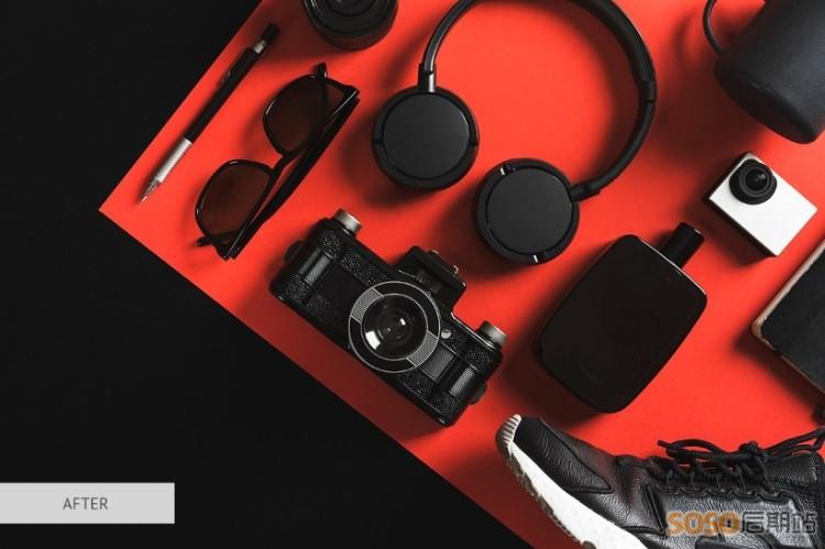 40款LR预设 商业产品摄影人像静物后期修图调色滤镜LUT预设 PR/AE/FCPX/达芬奇