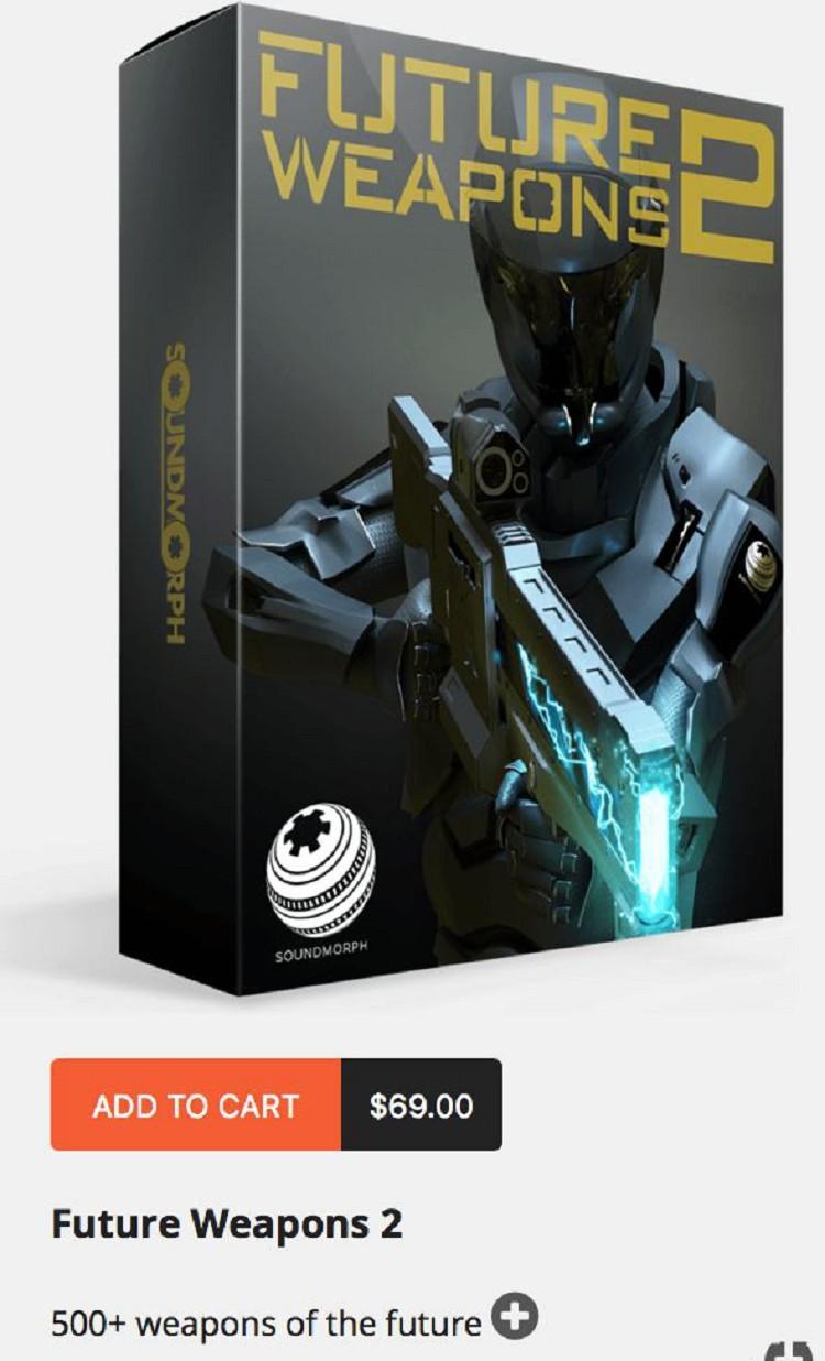 12套价值1000美元的无损音效素材 紧张气氛冲击爆破魔法能量科幻朋克武器配音背景音效