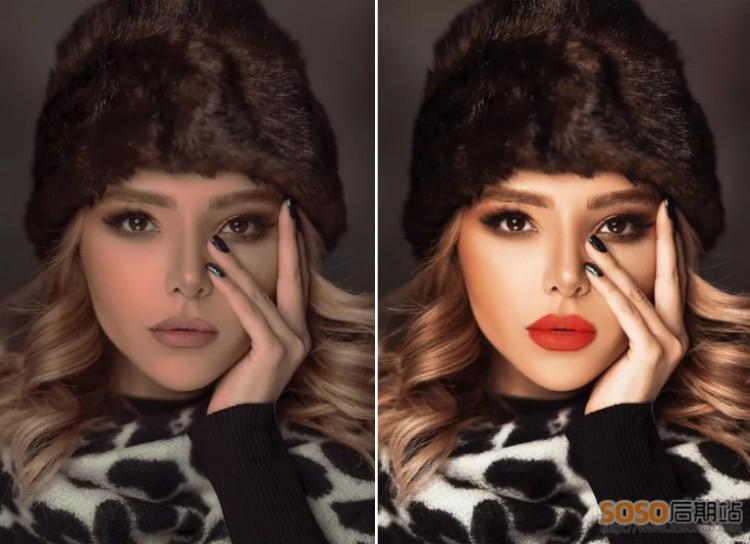 Beautify Panel v2中文汉化版 PS皮肤美白磨皮插件时尚人像修饰化妆扩展面板