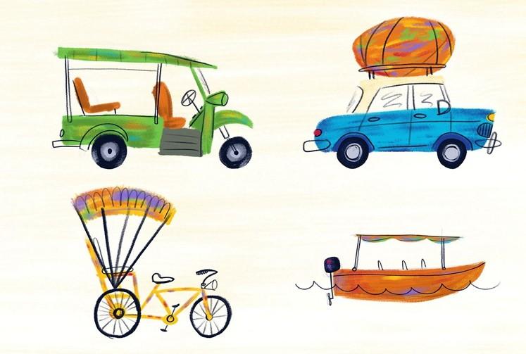 Procreate笔刷故事书插画风格画笔刷下载 IPAD 绘画 手绘 插画