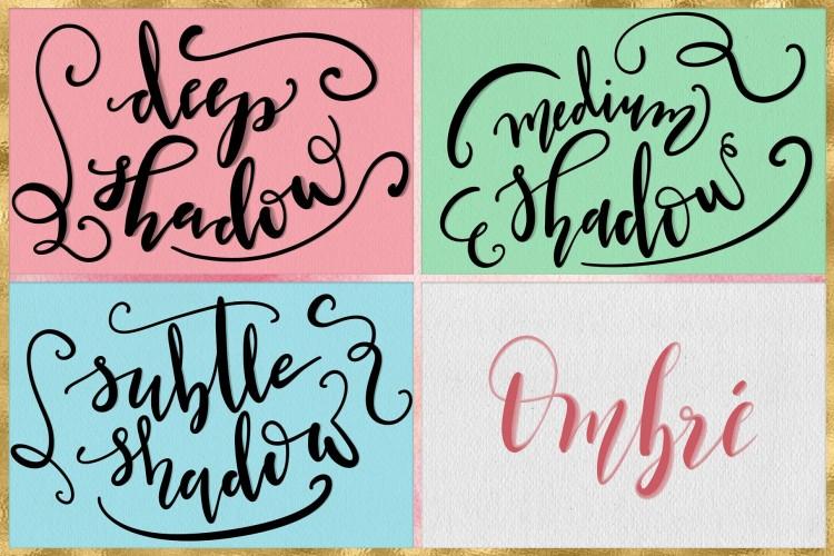 Procreate笔刷手绘浪漫场景的笔刷等元素套装iPad插画绘画素材