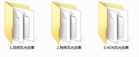 LR预设风景建筑HDR景观风光ACR调色滤镜PS/PR/FCPX/达芬奇/AE/LUT