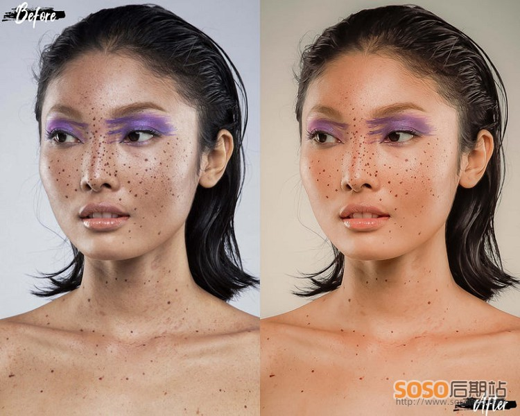 LR预设人像磨皮全系列,完美肌肤3motional Perfect Skin Lightroom Presets